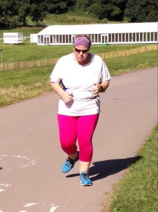 Park Run Pink Leggings