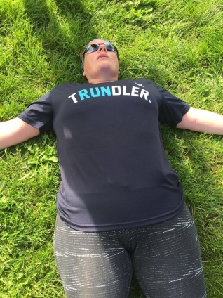Collapsed on the floor after 10 miles