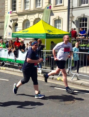 Me running at Bristol 10k