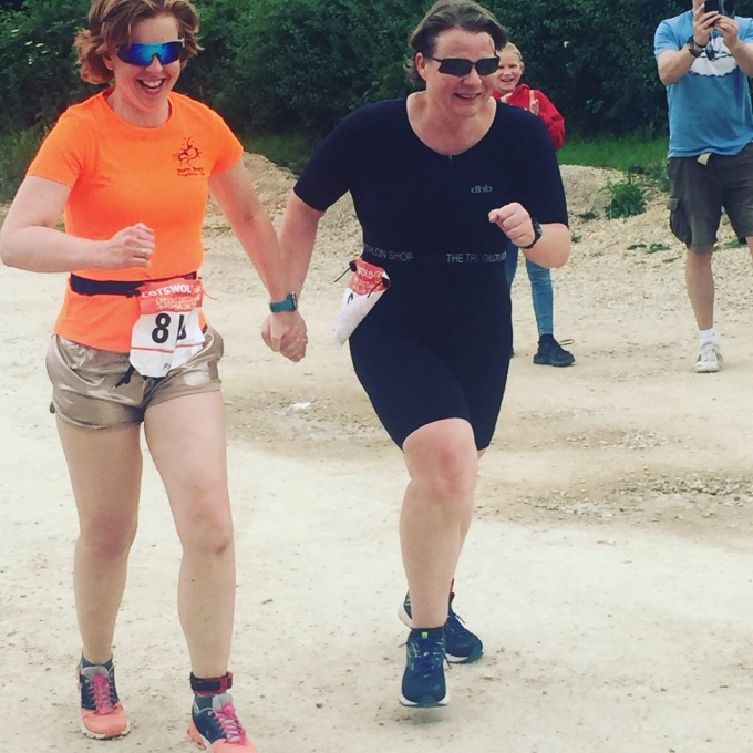 Finish sprint